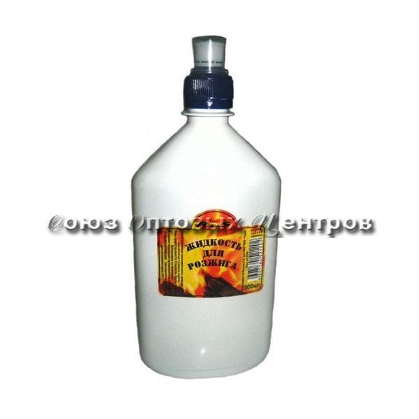 """Жидкость для розжига костра """"RUNIS"""" с дозатором, 0,5л./24/"""