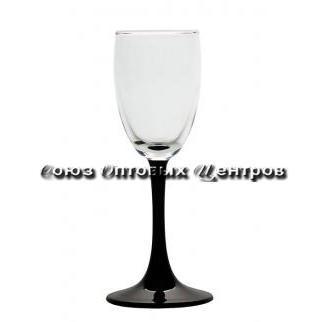 Набор бокалов IMPERIAL BLACK 4 шт. 73 мл (водка) 4