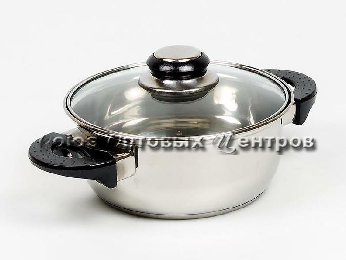 Ковш 16см/1.5 л METALPOSUDA BLACK 12шт/кор UL-1850