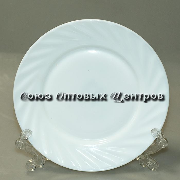 Тарелка плоская круглая d=18, 6/72 (10702020/220917/0021597, КИТАЙ)